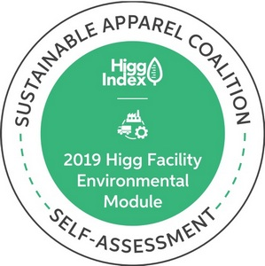 Green Lab measure social and environmental sustainability performance by Higg index